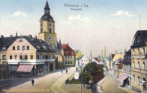 Meerane in Sachsen, Neumarkt