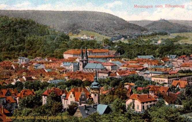Meiningen vom Bibrasberg