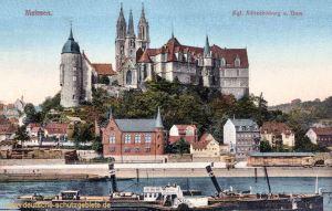Meissen, königliche Albrechtsburg und Dom