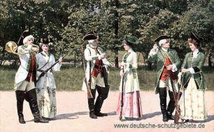 Meißener Porzellan, 2. Jägergruppe aus der Zeit August III.