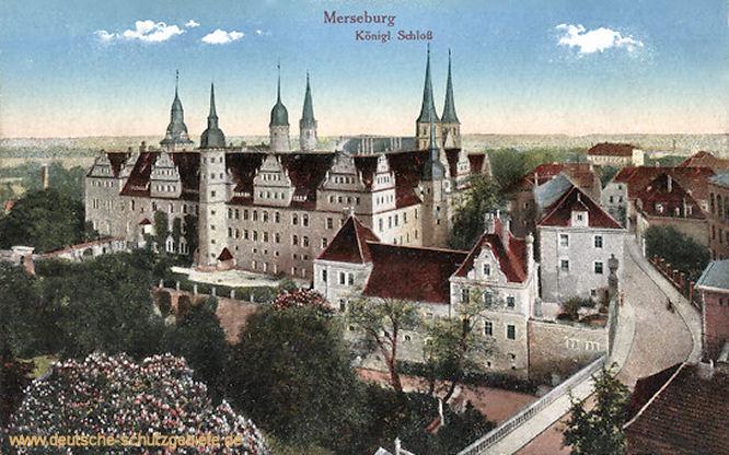 Merseburg, Königliches Schloss