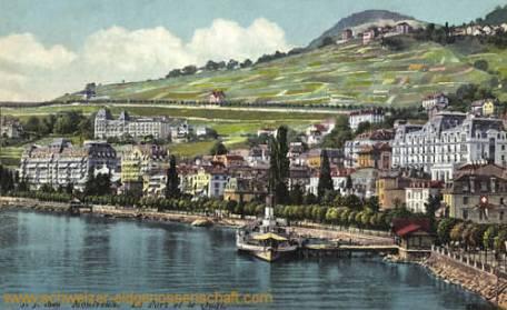 Montreux, le Port et le Quai