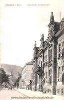 Mosbach, Hauptstraße mit Bezirksamt