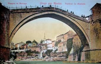 Mostar, Römerbrücke