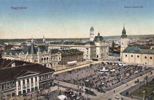 Großwardein (Nagyvárad), Szent László tér (Heiliger Ladislaus Platz)