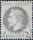 Empire Francais, 4 Centimes, Napoleon III.