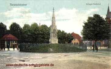 Neumünster, Kriegerdenkmal