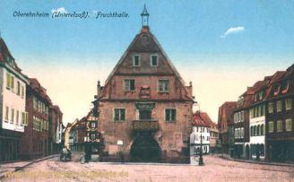 Oberehnheim i. Els., Fruchthalle