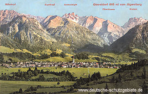 Oberstdorf vom Jägersberg
