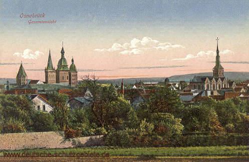 Osnabrück, Gesamtansicht