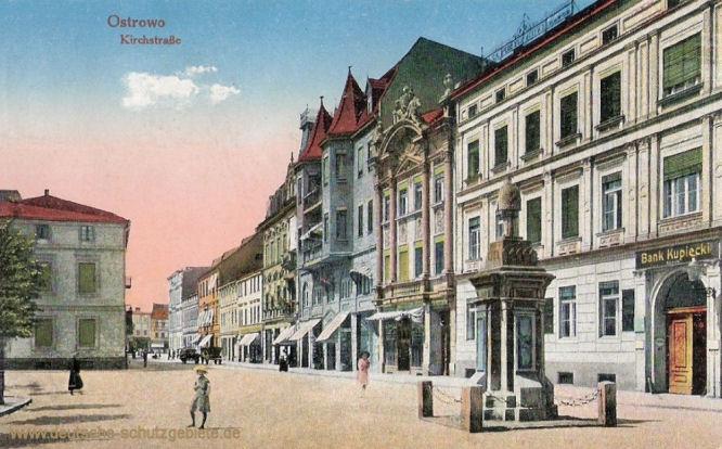 Ostrowo, Kirchstraße