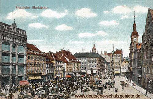 Pforzheim, Marktplatz