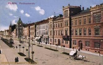 Pilsen, Ferdinandstraße