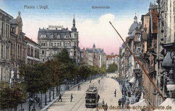 Plauen, Bahnhofstraße