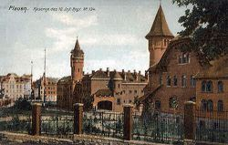 Plauen, Kaserne des 10. Infanterieregiment Nr. 134