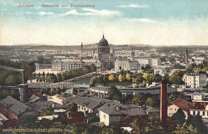 Potsdam, Panorama vom Braunsberg