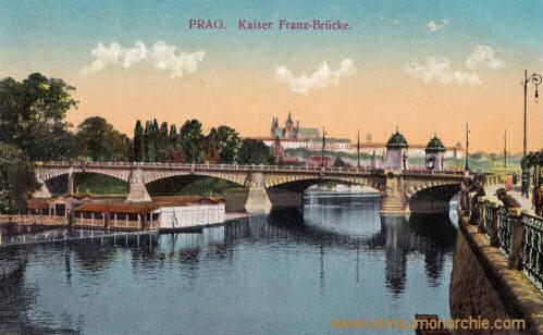 Prag, Kaiser Franz-Brücke