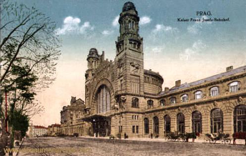 Prag, Kaiser Franz Josefs-Bahnhof