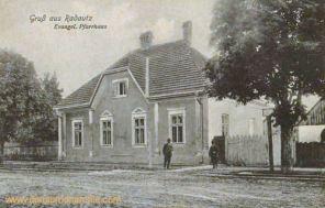 Radautz, Evangelisches Pfarrhaus