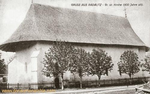 Radautz, Griechisch orthodoxe Kirche (400 Jahre alt)