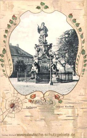 Rathenow, Denkmal des Großen Kurfürsten