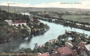 Rathenow, Havelpartie am Weinberg