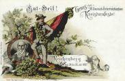 Reichenberg, Gruss vom Deutsch-Österreichischen Kreisturnfest 1897