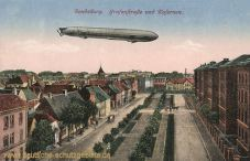 Rendsburg, Grafenstraße und Kasernen