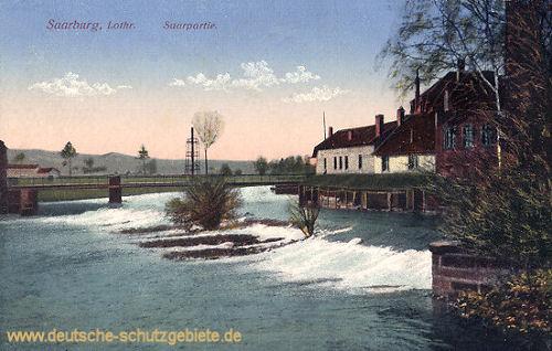 Saarburg in Lothringen, Saarpartie