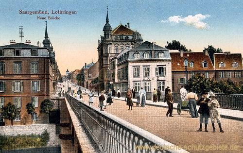 Saargemünd, Neue Brücke