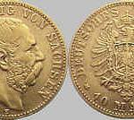 10 Mark, Sachsen 1877