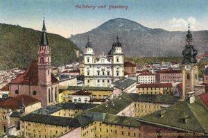 Salzburg und Gaisberg