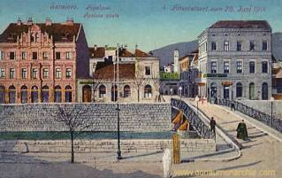 Sarajevo, Attentatsort 1914