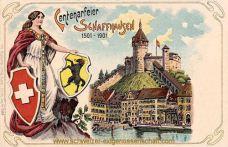 Schaffhausen, Centenarfeier 1501 - 1901