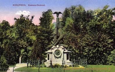 Schleswig, Kanonendenkmal