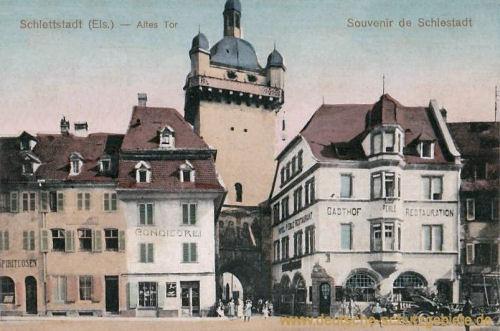 Schlettstadt, Altes Tor