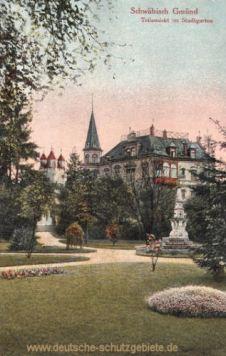 Schwäbisch Gmünd, Stadtgarten