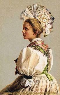 Schwyz, Ratsherrenfrau