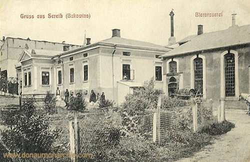 Sereth (Bukowina), Bierbrauerei