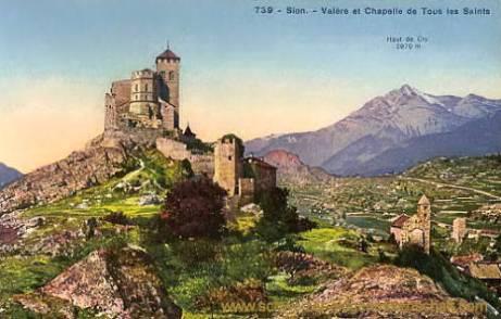 Sion, Valère et Chapelle de Tous les Saints