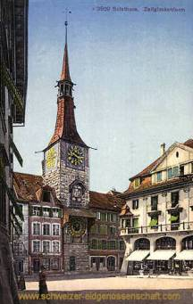 Solothurn, Zeitglockenturm