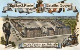 Speyer, Kgl. Bayr. 2. Pionier-Bataillon