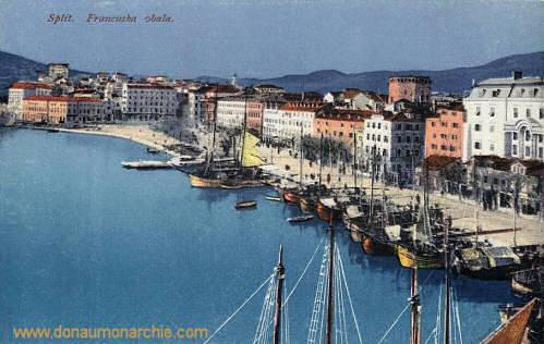 Spalato (Split), Francuska obala