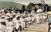 St. Gallen, Jugendfest, Mädchen im Festzuge