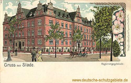 Stade, Regierungsgebäude