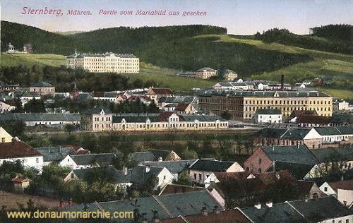Sternberg in Mähren, Partie vom Marienbild aus gesehen