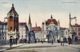 Stettin, Auf der Hansabrücke
