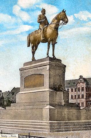 Stolp, Kaiser Wilhelm-Denkmal