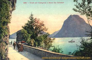 Strada per Castagnola e Monte San Salvatore