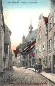 Stralsund, Schillstraße und Johanneskirche